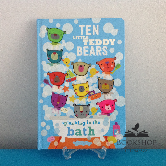 Ten Little Teddy Bears Splashing in the Bath