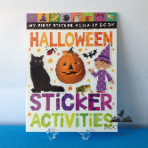 Halloween Sticker Activities Book