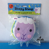 Cuddly Cloth Puppets: Sleepy Sheep! A Soft Book