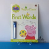 Peppa Pig: Wipe-Clean First Words