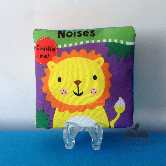 My First Buggy Buddy: Noises - A Crinkly Cloth Book for Babies!
