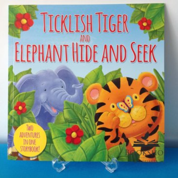 Ticklish Tiger and Elephant Hide And Seek